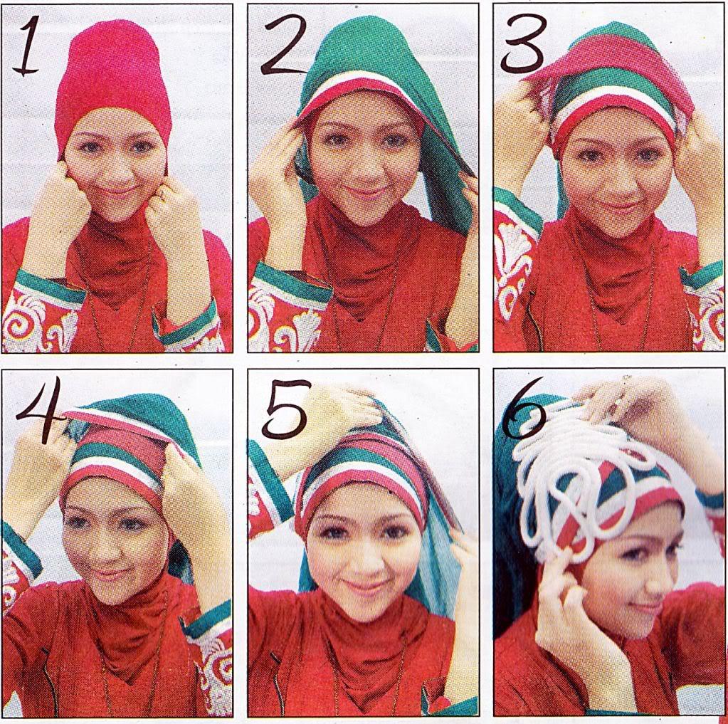 Tutorial Jilbab Hijab Segi Empat Wajah Bulat 41 Tutorial